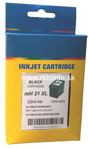 HP21XL black, 22ml.