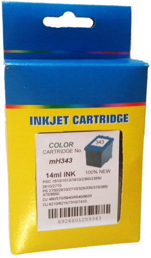 HP343 color, 14ml.
