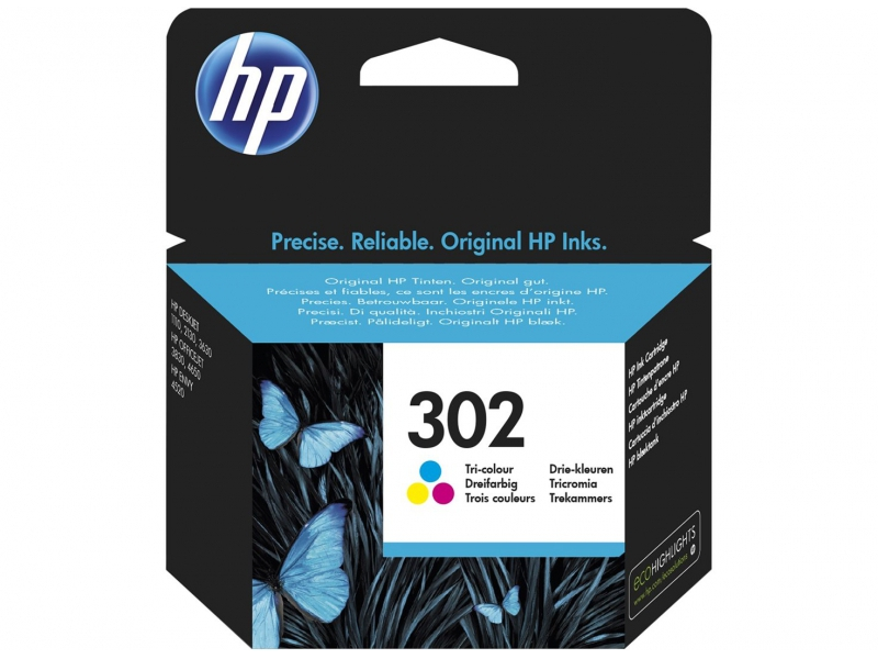 HP 302 color, 4,5ml.