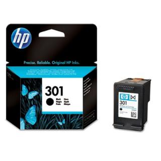 HP 301 black, 3ml.