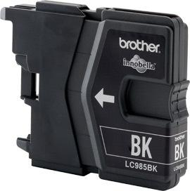 Brother LC985, black, 12ml.